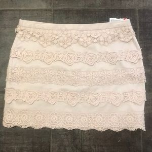 Forever 21  Beautiful lace💎 flowered skirt